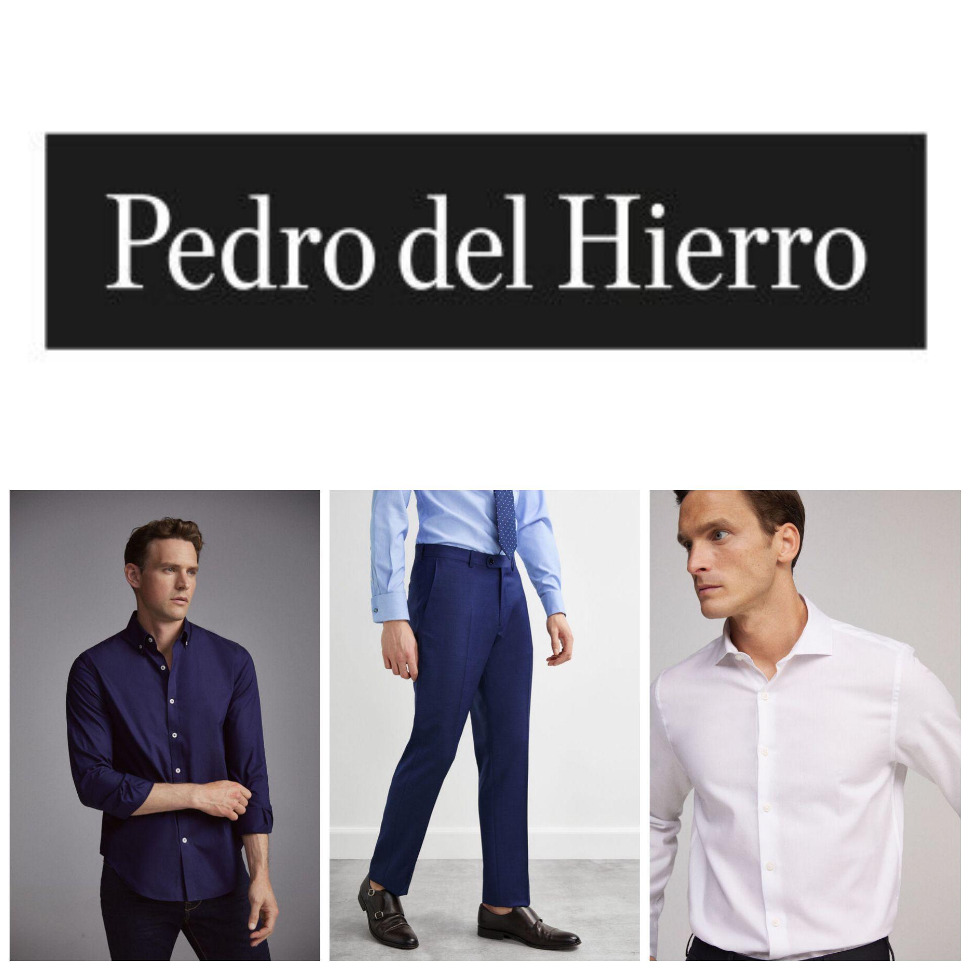 Camisas y Pantalones Pedro del Hierro (Varios en Descripción)