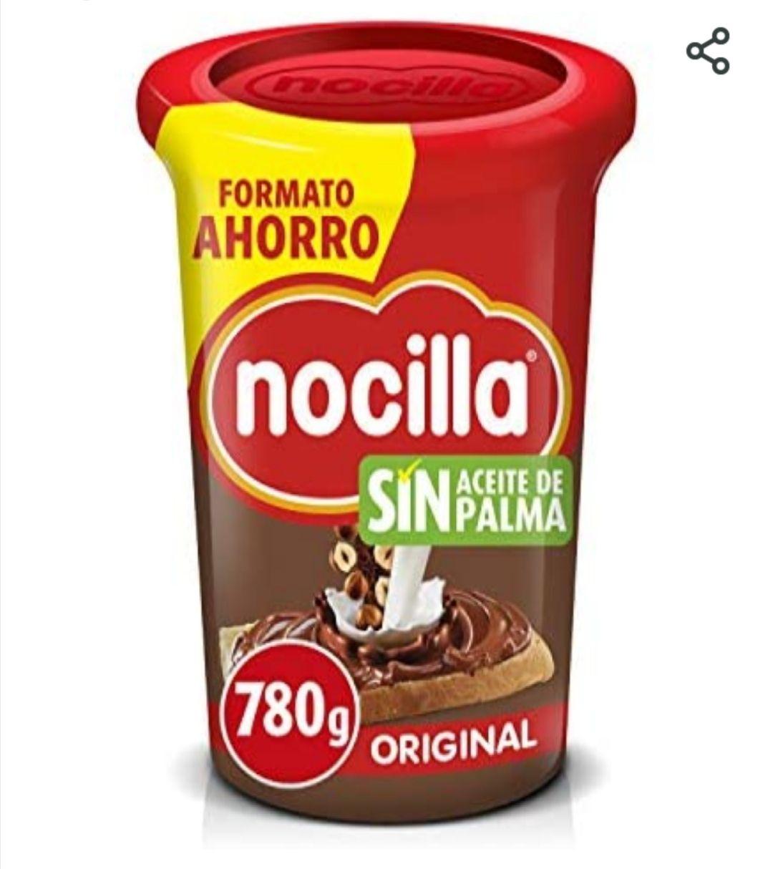 Nocilla Original-Sin Aceite de Palma: Crema de Cacao, 780g (disponible tb en chocolate blanco)