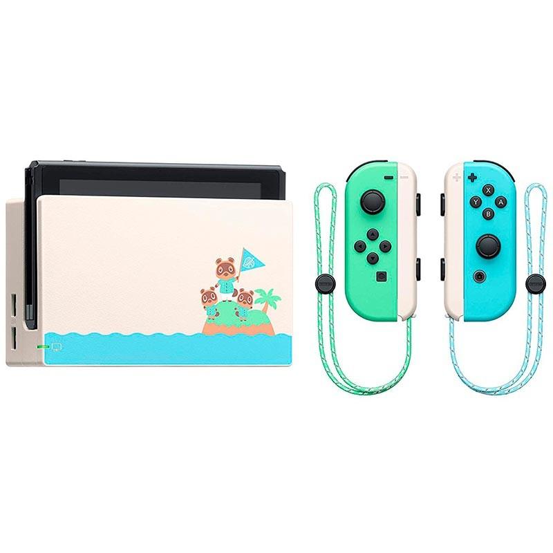 Nintendo Switch Edición Animal Crossing (juego no incluido)