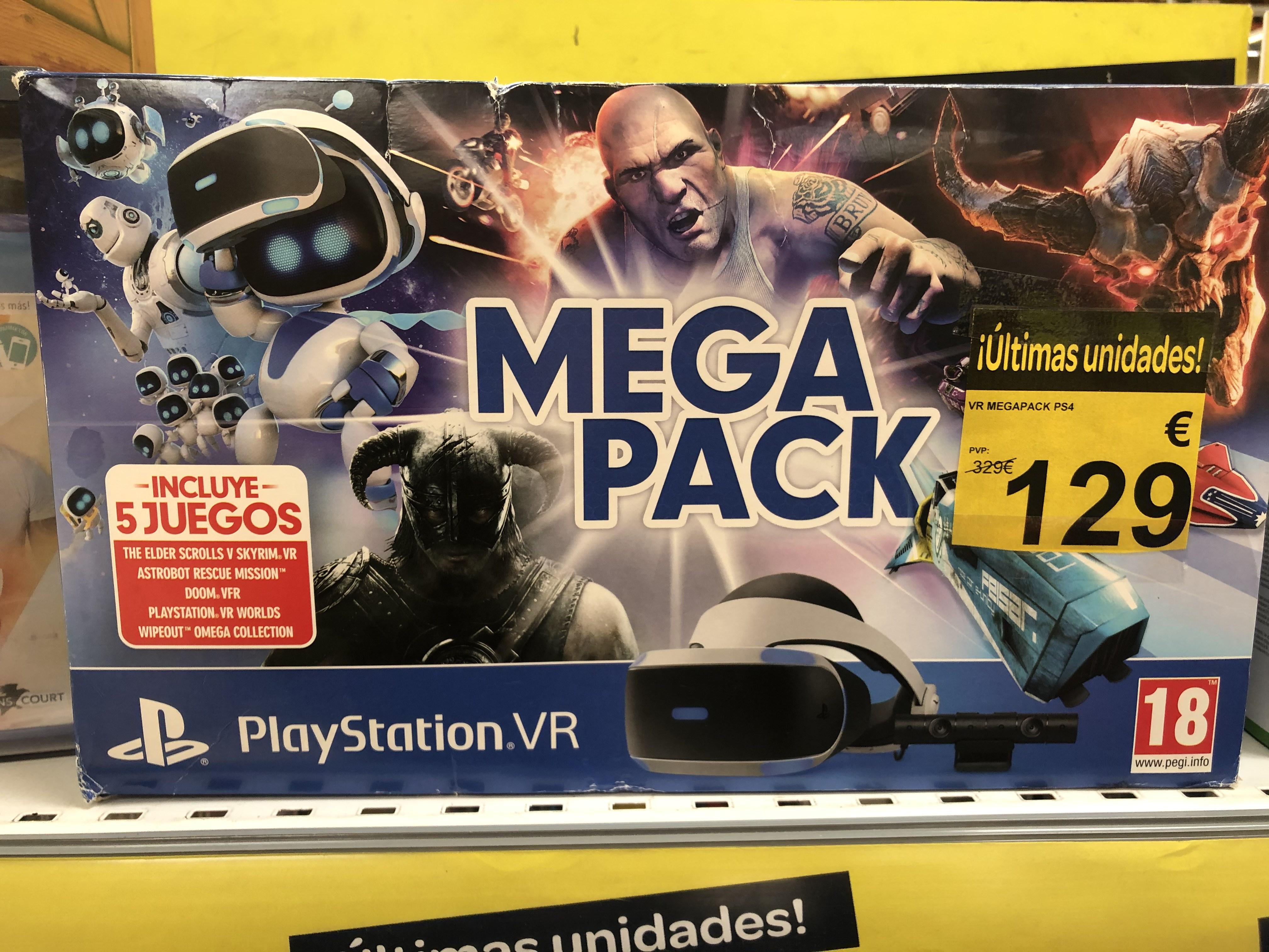 PlayStation VR Mega Pack - PlayStation 4
