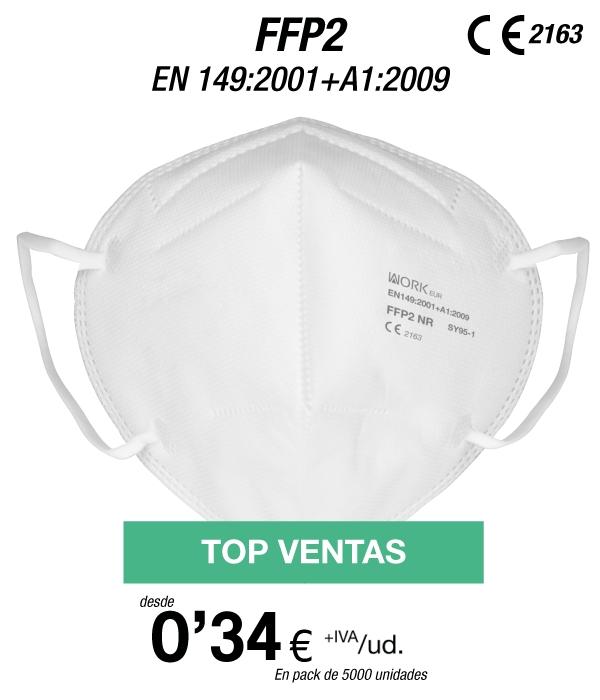 Caja 100 uds Mascarillas FFP2