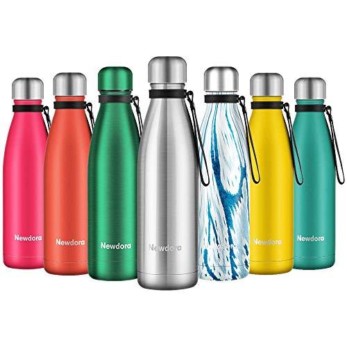 Botella de Agua Acero Inoxidable 500ml