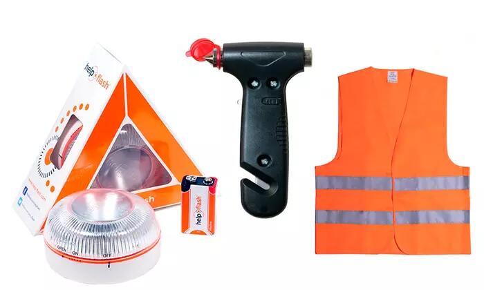 Baliza V16 help flash conchaldco y martillo
