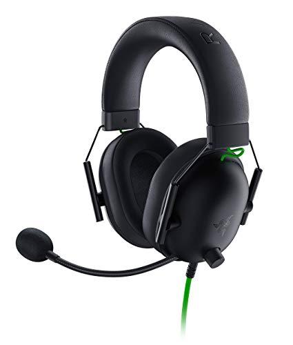 Razer BlackShark V2 X Auriculares para Juegos Esports, Cable con Controlador de 50 mm Reducción de Ruido para PC, Mac PS4 Xbox One y Switch