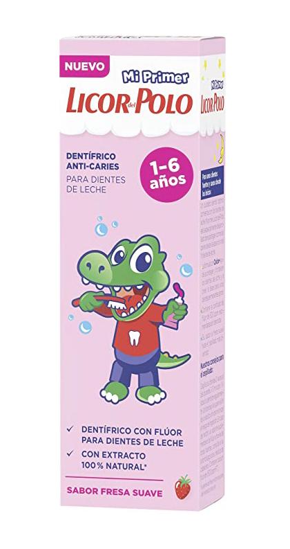 Licor del Polo - Pasta de dientes Junior 1-6 años - 3x50ml