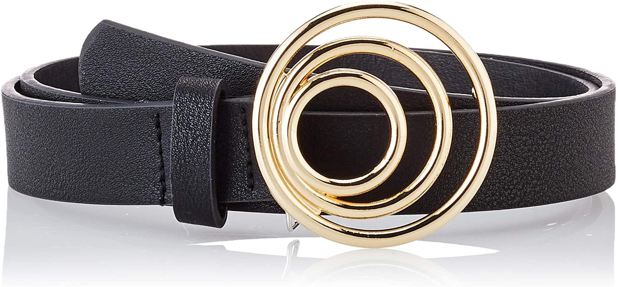 TALLA 90 - PIECES Pcneema Jeans Belt Cinturón para Mujer