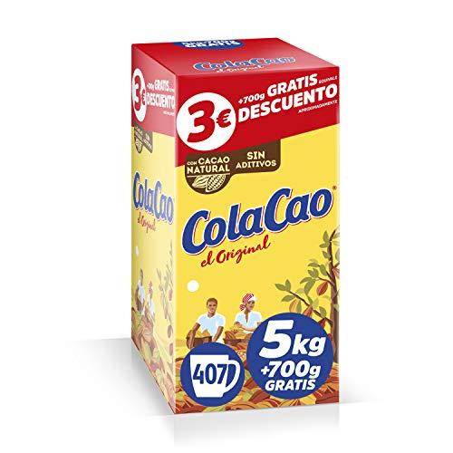 El precio por kilo mas bajo en Cola cao