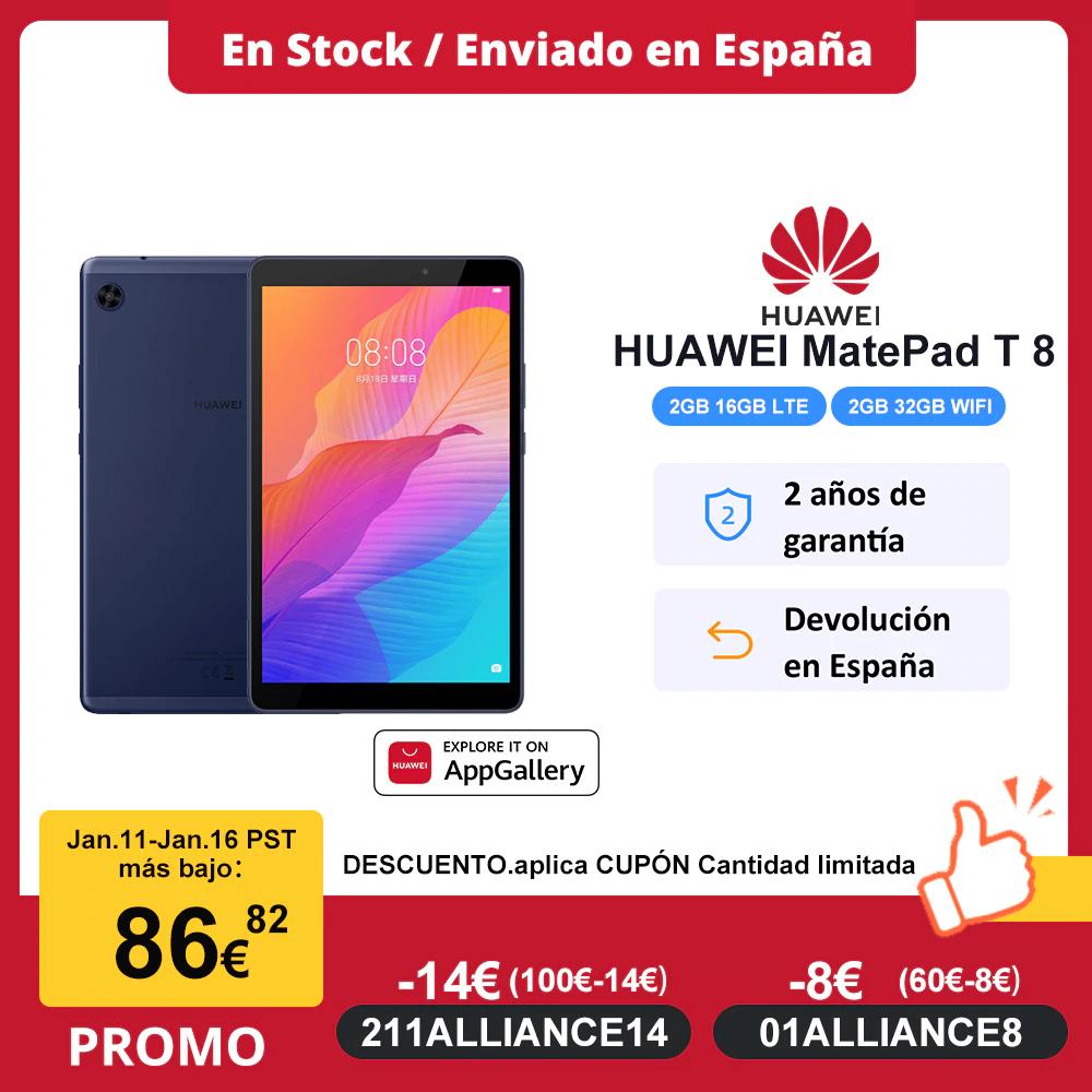 Versión global HUAWEI MatePad T8 Tablet