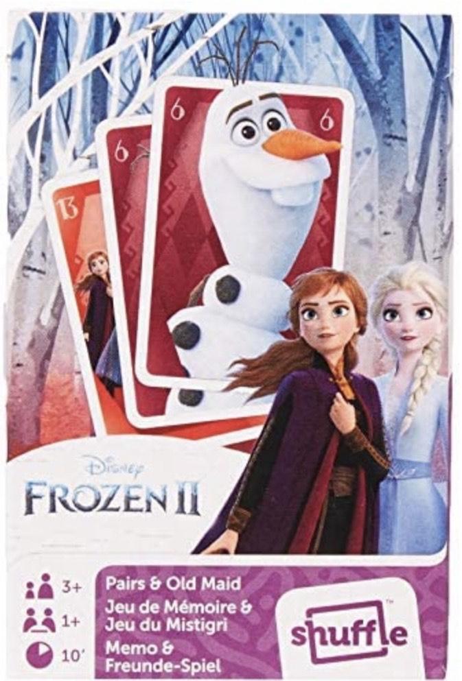 Frozen Juegos de Cartas 2 en 1 (Pares y Viejas criadas)