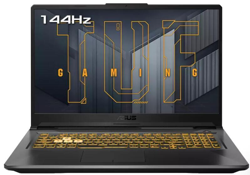 "Portátil Asus TUF 17"" IPS 144Hz, 5800H, 16GB, 512GB SSD, RTX3070 MaxQ 8GB, FreeDOS"