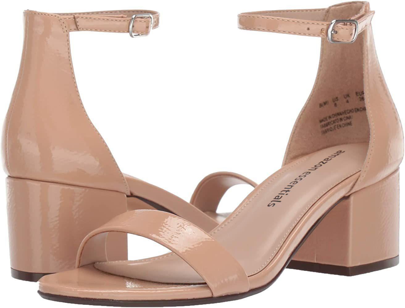 TALLA 39 - Amazon Essentials NOLA - Heeled-Sandals Mujer