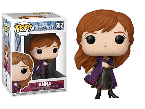 Funko - Pop! Disney: Frozen 2 - Anna Figurina, Multicolor