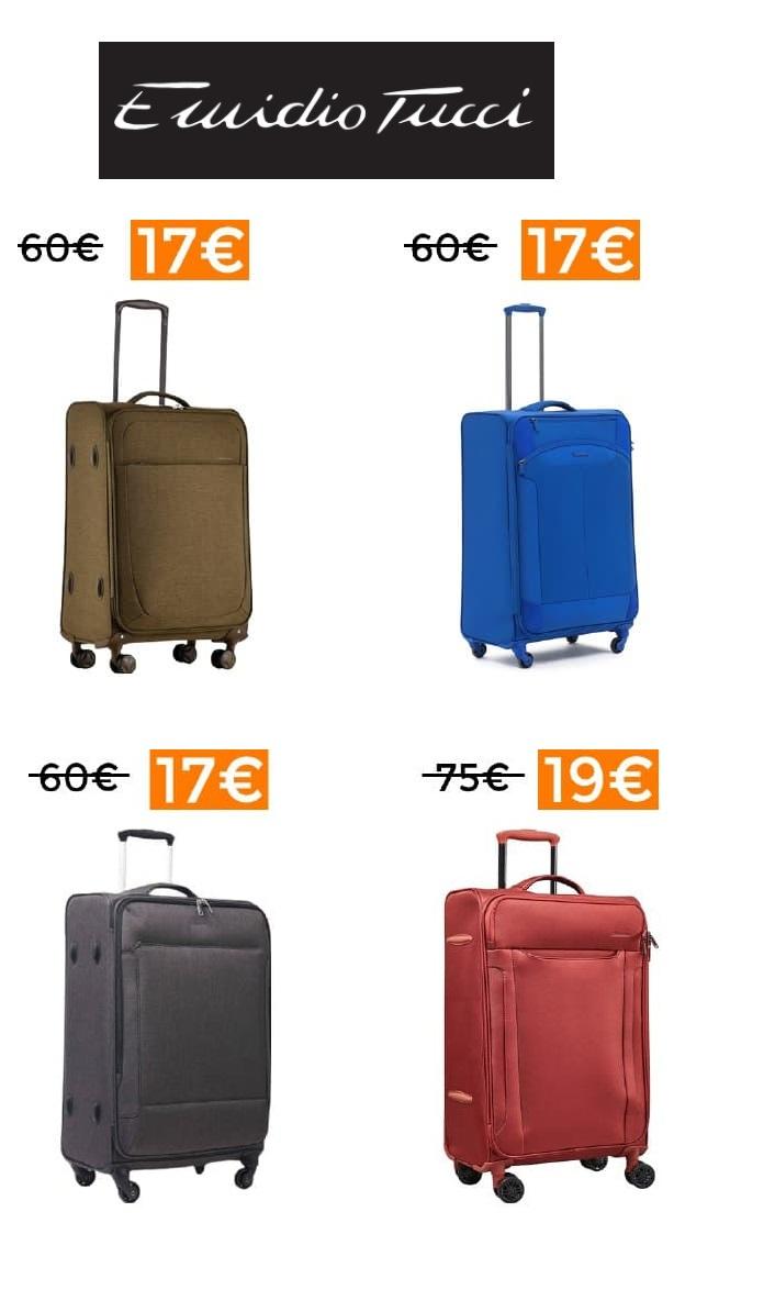 MALETAS EMIDIO TUCCI POR 17€ o 19€ (Varias medidas en Descripción)