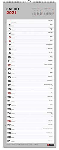 Calendario 2021 pared