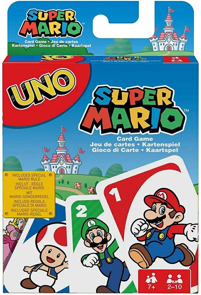 Juego UNO de Super Mario