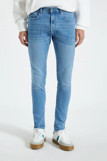Jeans skinny fit básicos