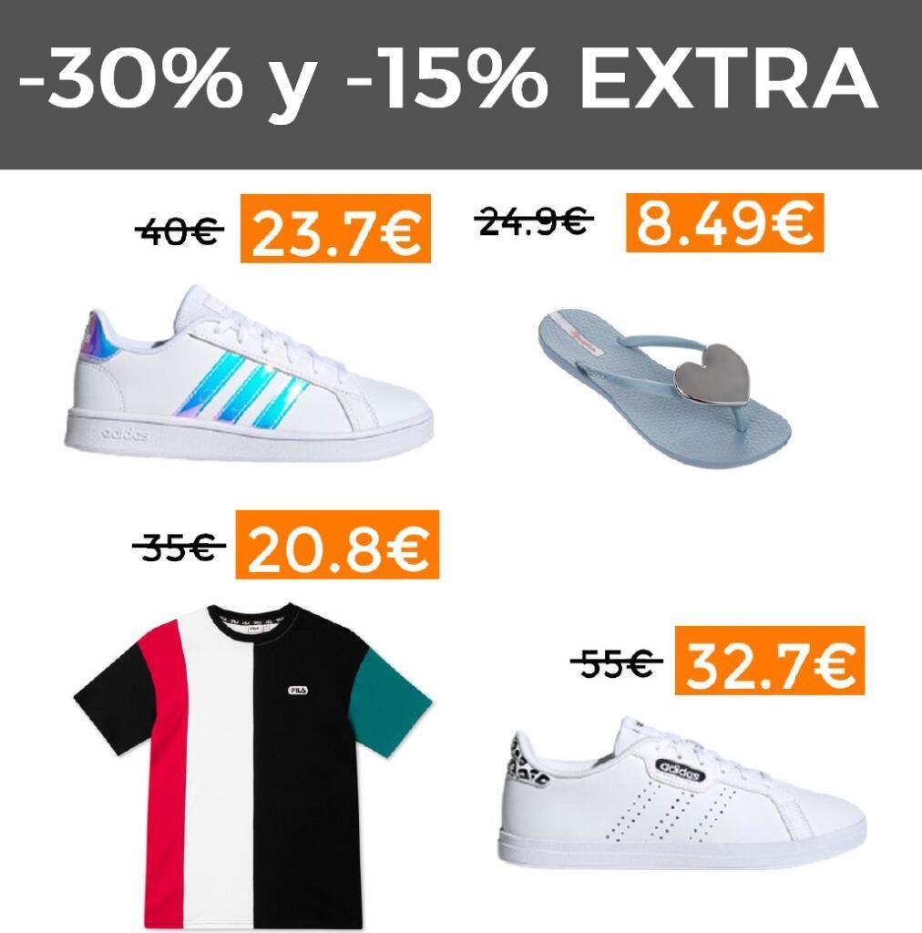 -30% y 15% EXTRA de descuento en toda la web de Pasgar Sport