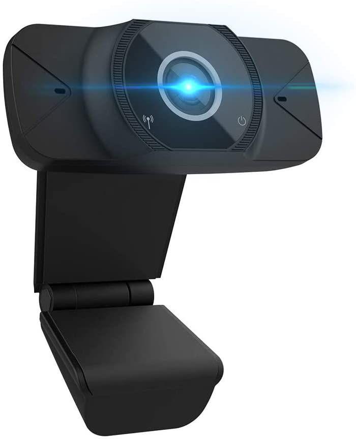 Webcam con Micrófono, YOUKUKE Web Cámara 1080P Plug and Play