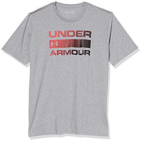 Camiseta de Manga Corta, Under Armour, para Hombre con diseño gráfico,talla XXL