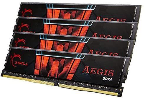 Memoria GSKILL DDR4 64GB 2400MHZ C15 AEGIS K4 (4X16GB)