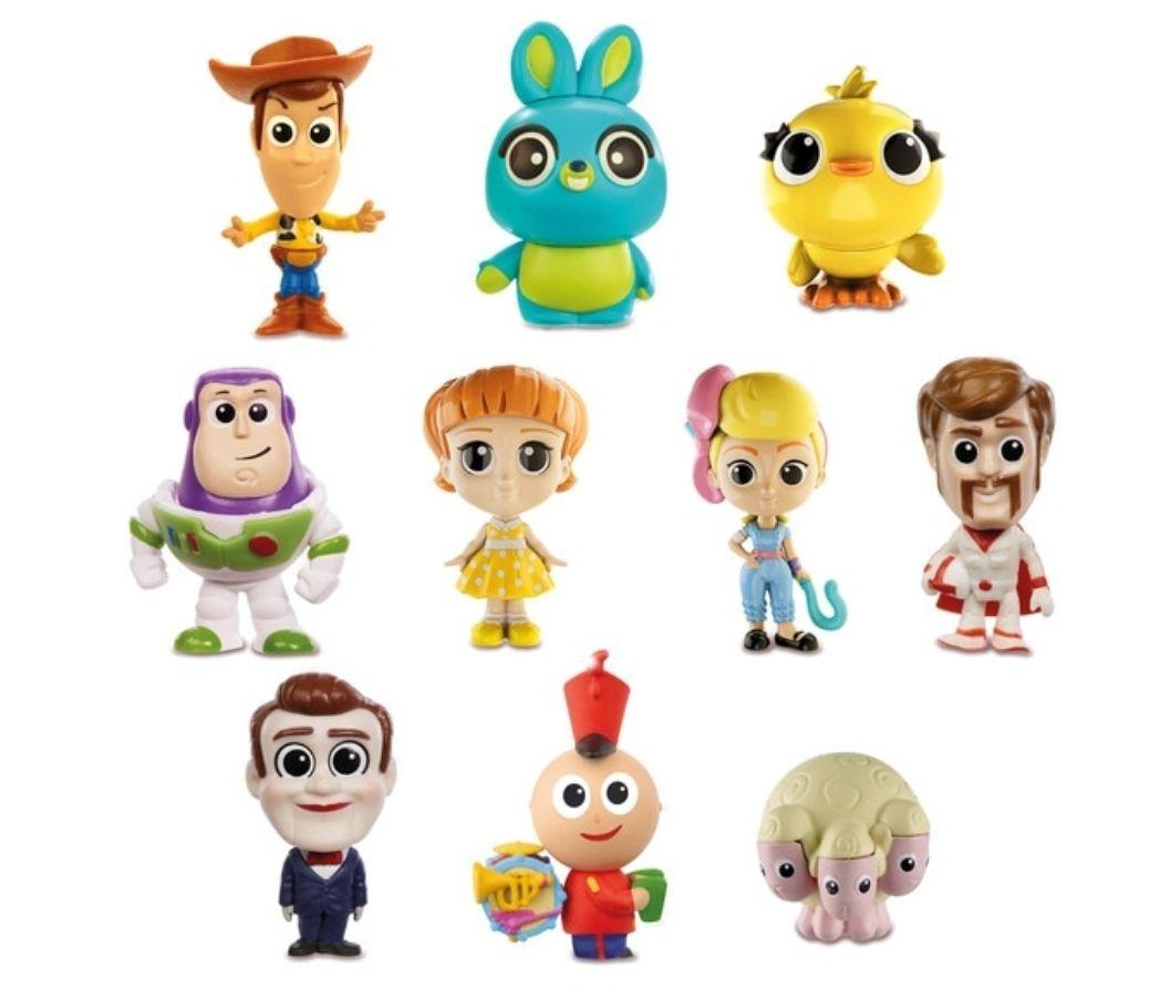 MATTEL Pack de 10 Amiguitos Disney Toy Story 4
