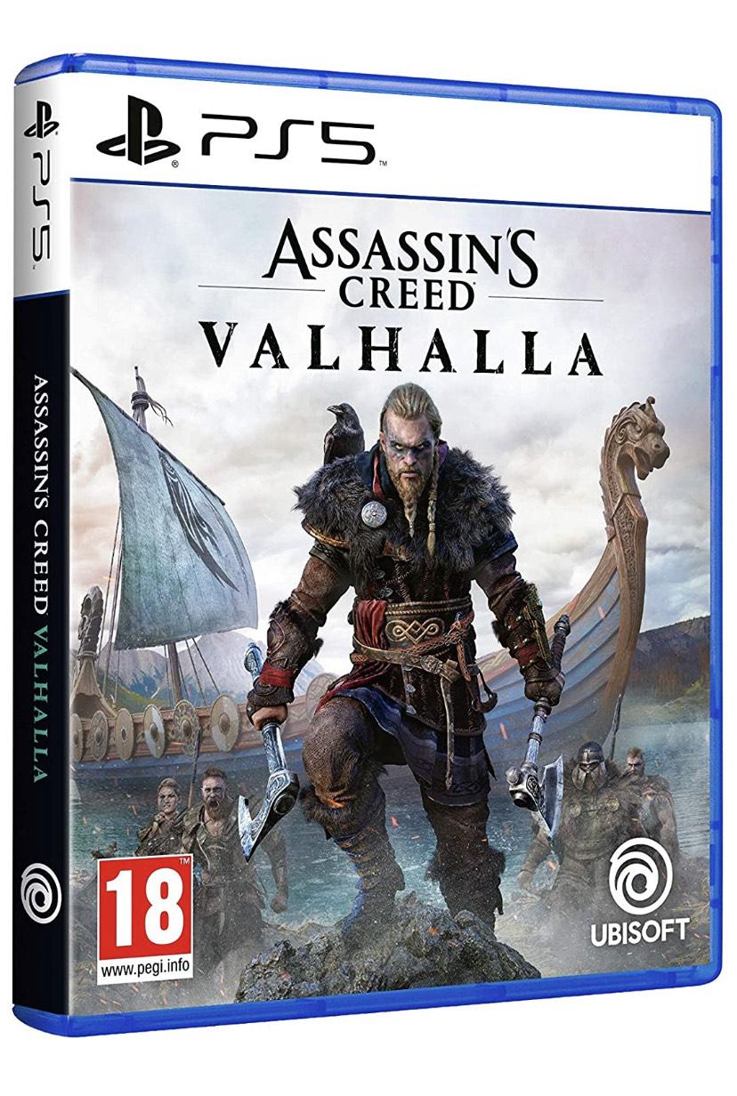 Assassin's Creed Valhalla PS4/PS5 y Xbox por solo 39,9€ (Amazon y Carrefour)