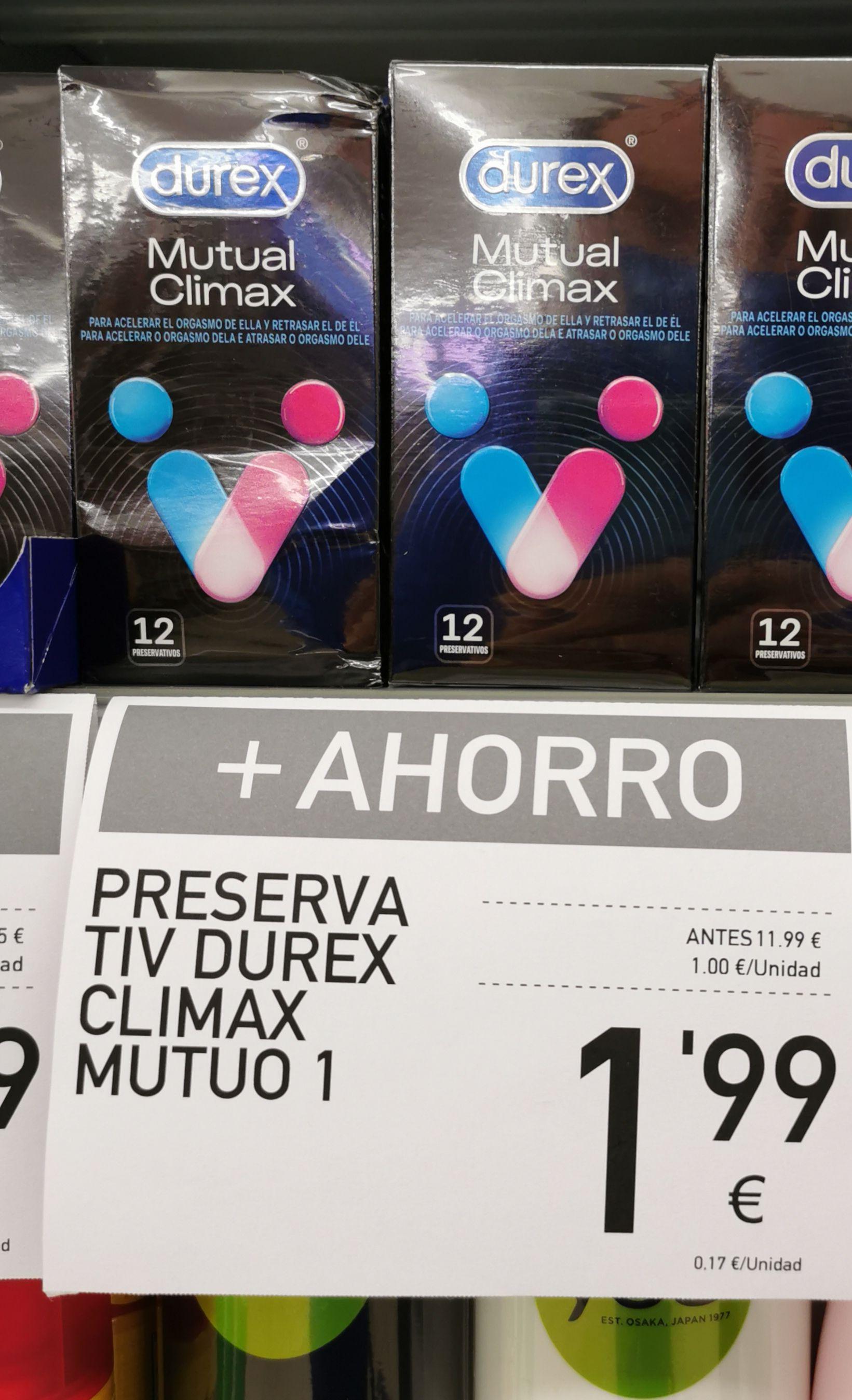 Durex mutual climax 12 unidades. SUPERMERCADOS CONDIS