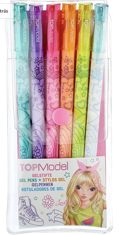 Top Model - Juego de plumas de gel