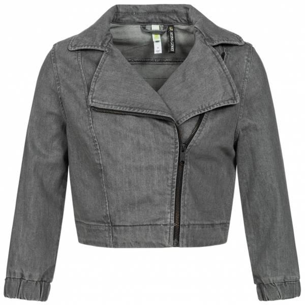 Adidas chaqueta NEO x Selena Gomez Mujer Denim Biker