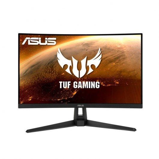 Asus TUF Monitor gaming curvo de 27'' WQHD 165 Hz, 1 ms, FreeSync HDR10, HDMI, DisplayPort