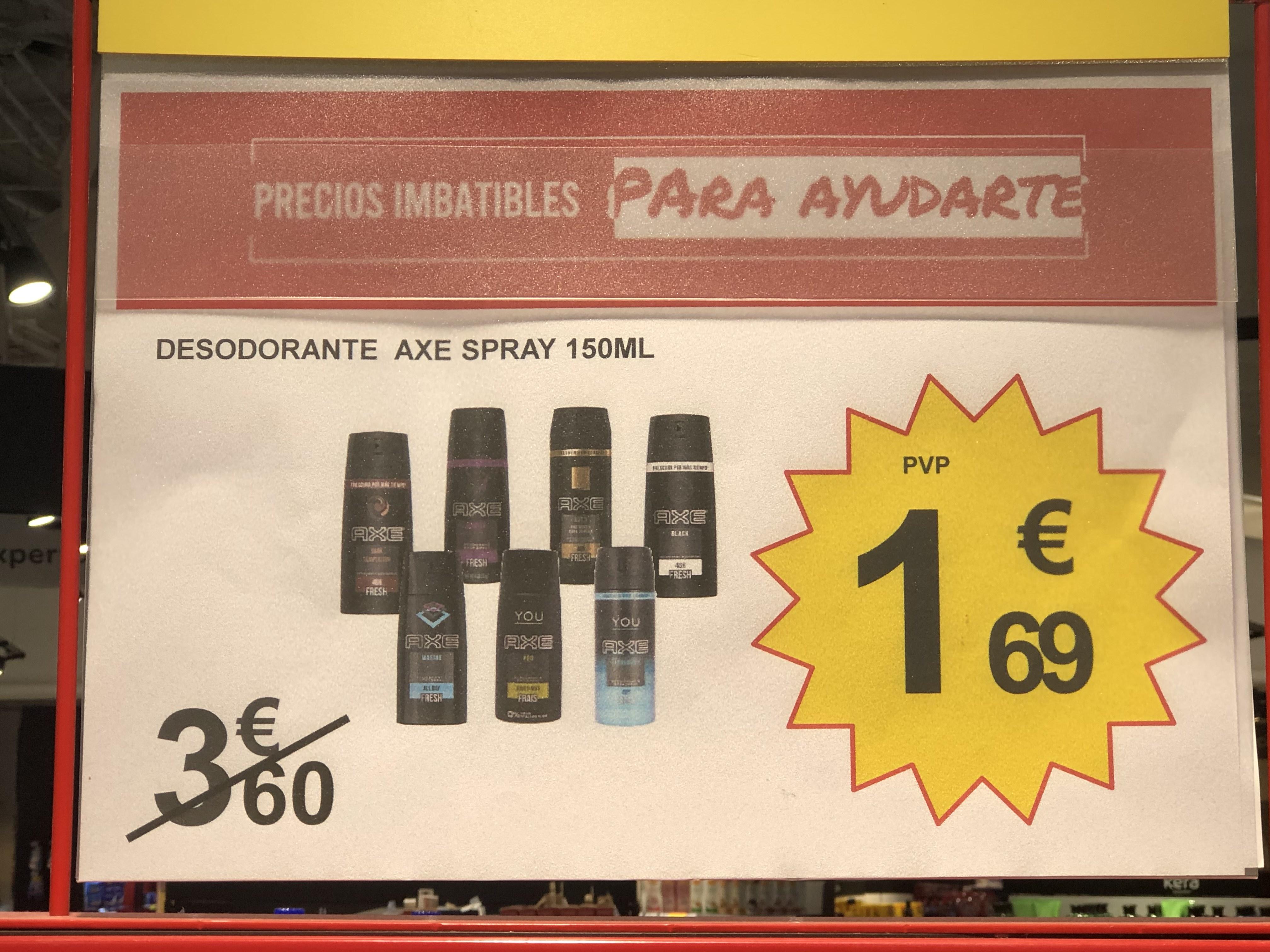 Desodorante Axe Carrefour Sevilla San Pablo