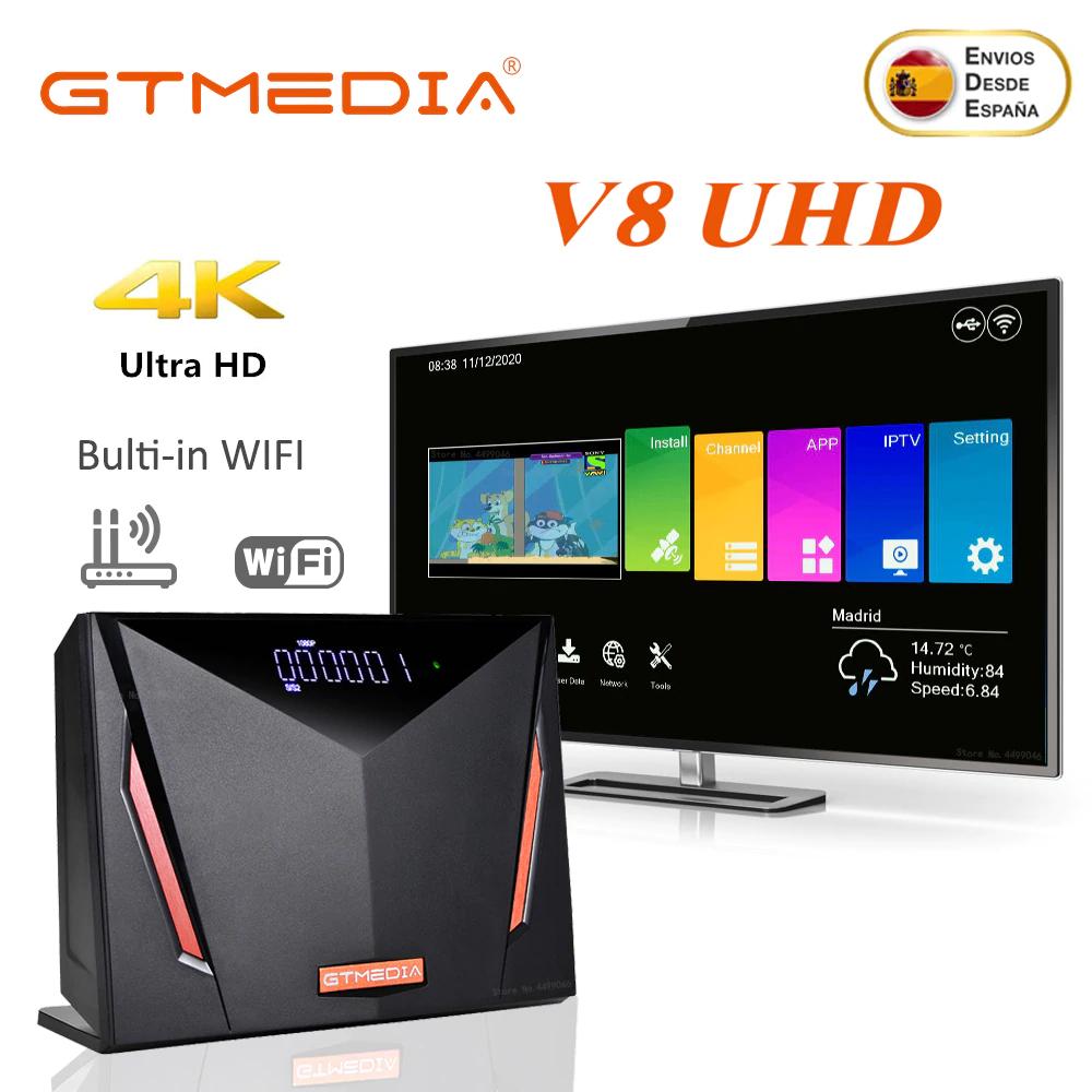 GTMEDIA V8 UHD 4K (DVB-S/S2/S2X,DVB+T/T2) Aliexpress PLAZA