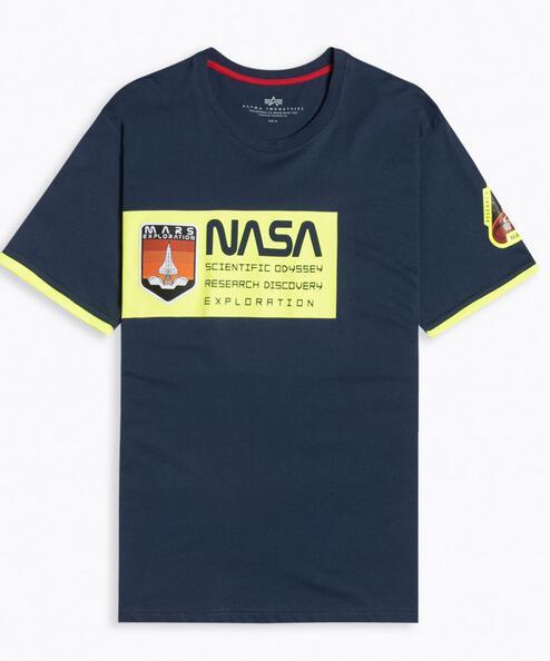 Camiseta Manga Corta Alpha Industries Mars Neon talla S y M
