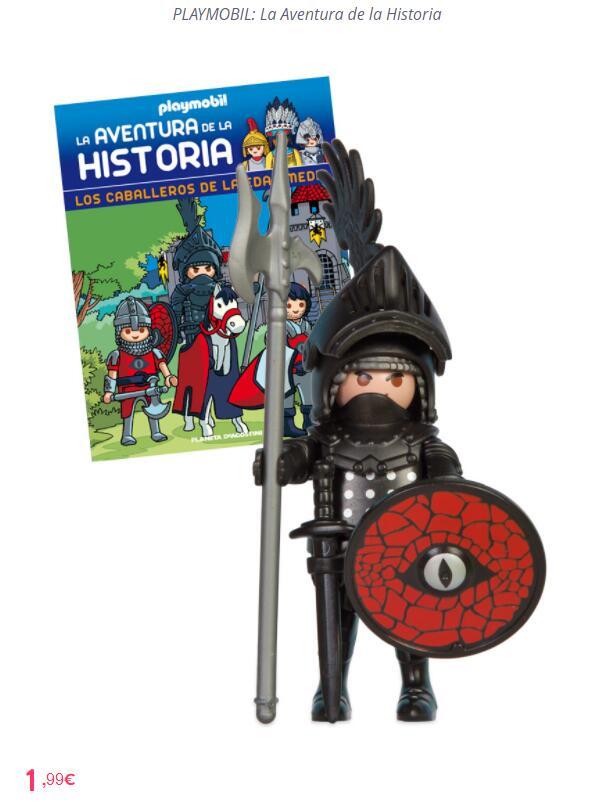 Playmobil Caballero Medieval por 1,99€