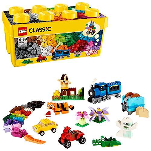 LEGO Classic - Caja de ladrillos Creativos, Set de Construcción con ladrillos de colores