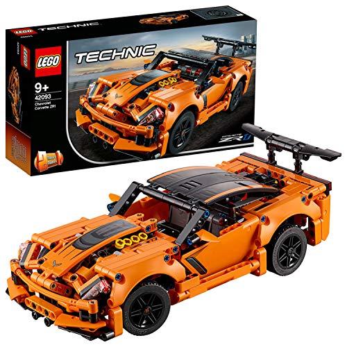 LEGO Technic - Chevrolet Corvette ZR1, maqueta de coche de juguete 2 en 1 para construir