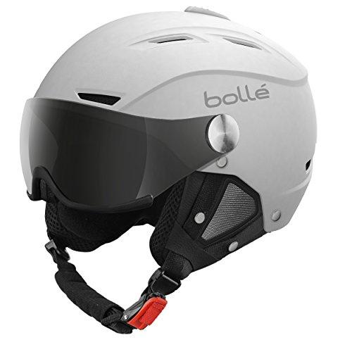 Bollé Backline Visor Casco de Ski Adultos Unisex - GRIS - TALLA 59-61 CMS