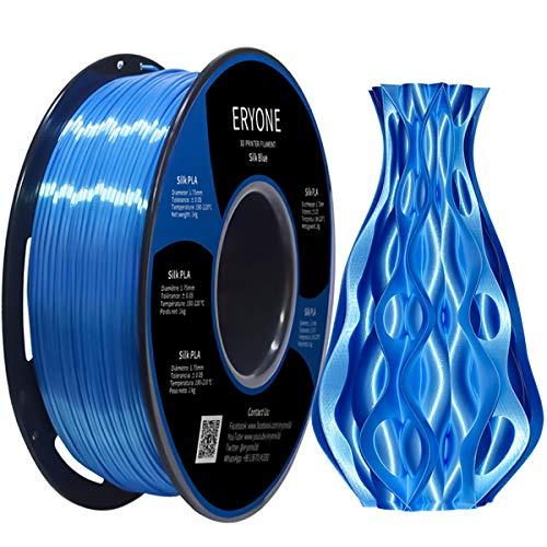 Filamento PLA 1kg Azul Seda