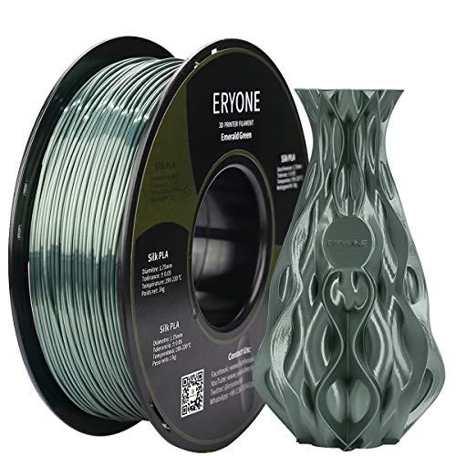 Filamento PLA 1kg Verde Esmeralda Seda