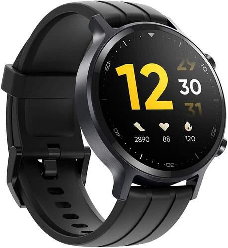 "SmartWatch Realme Watch S Negro - 1.3"", Ritmo Cardíaco, 16 Modos Deporte, 390mAh, BT 5.0"