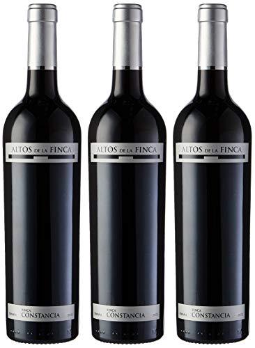 Pack de 3 Botellas de Vino de Altos de la Finca, V.T. Castilla, dec750 ml, unidad