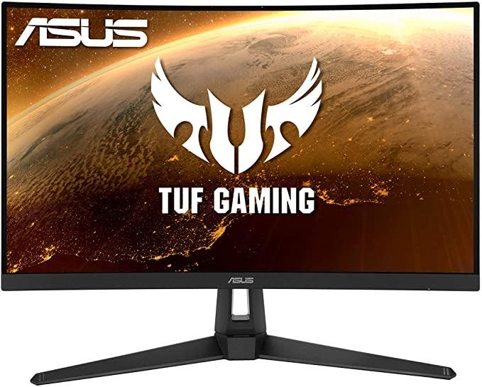 """Monitor curvo Asus 27"""" WQHD 165Hz HDR10 por 329€"""