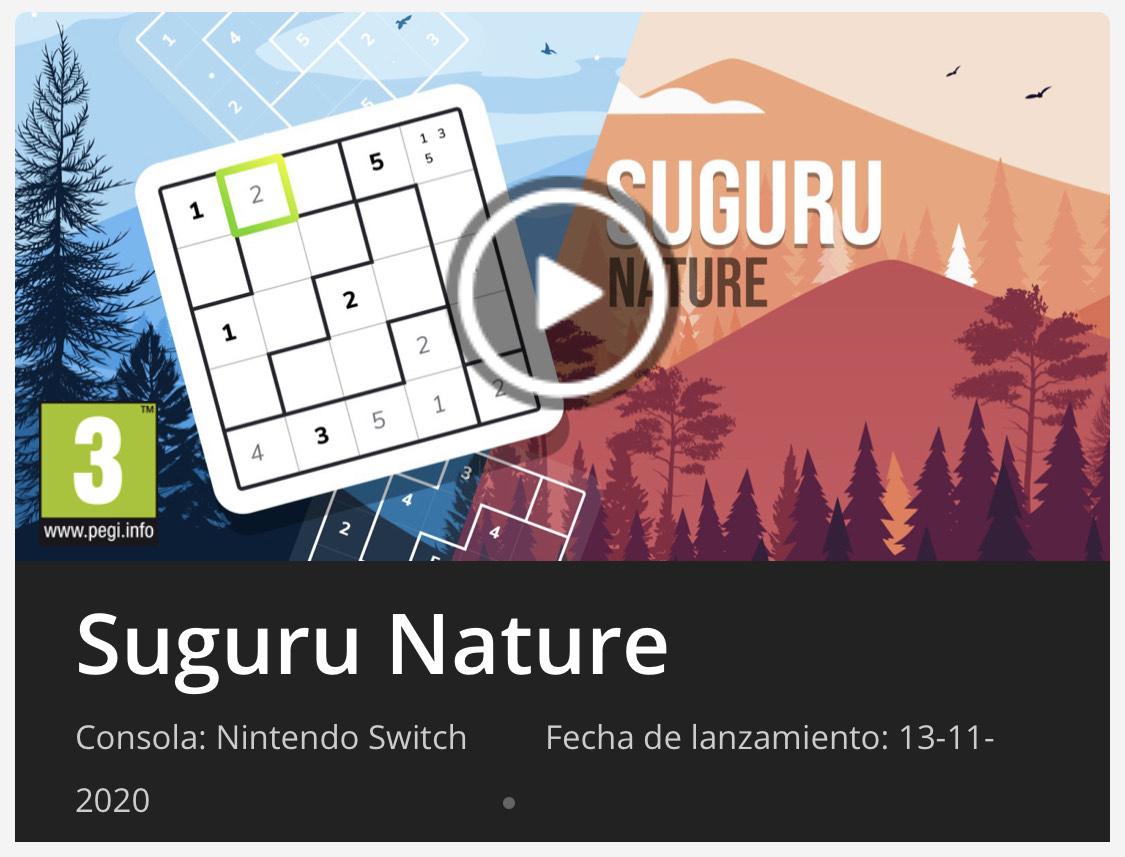 Suguru Nature Switch eShop Rusa