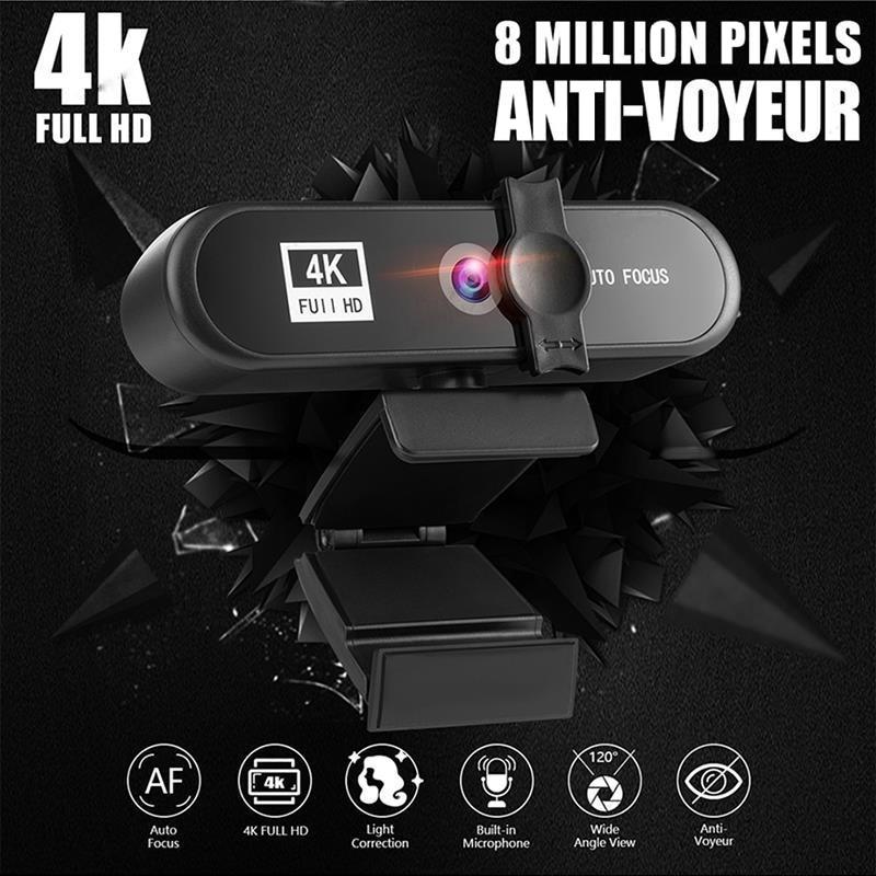 Cámara Web Full HD 4K 2K 1080P