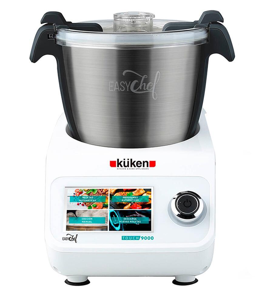 Robot de cocina küken 9000 multifunción con vaporera