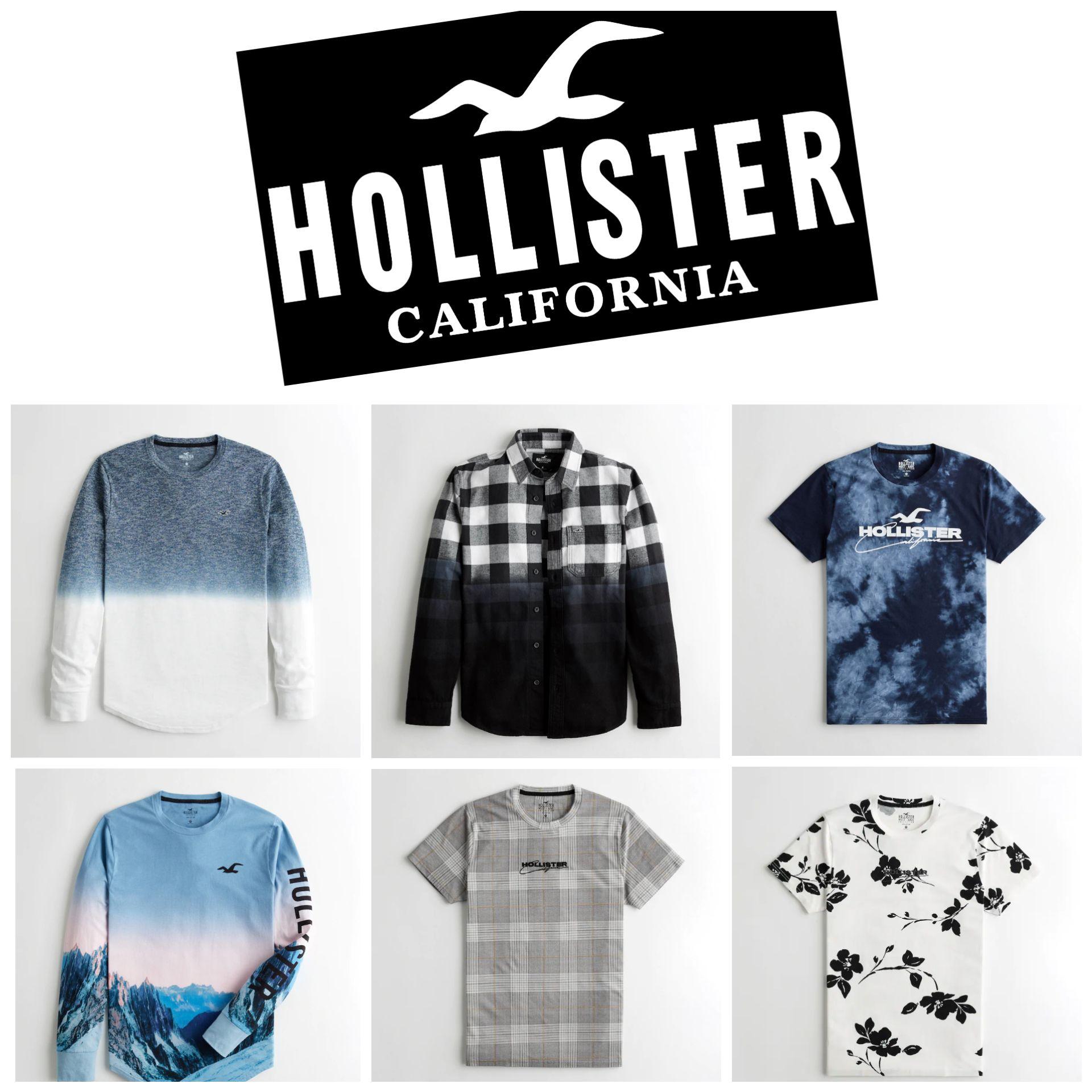 Camisetas Hollister para Hombre (por menos de 10€)