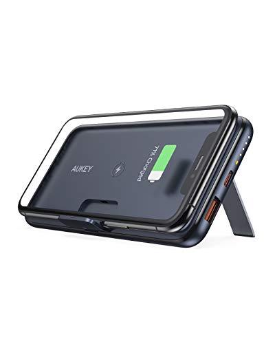 Aukey Batería 10.000 mAh PD 3.0 Qi 10W