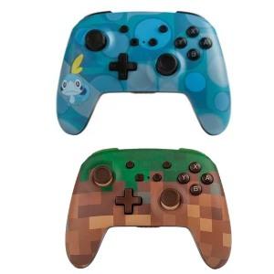 Mando inalámbricos con diseño Pokémon y Minecraft (Nintendo Switch, AlCampo Teruel)