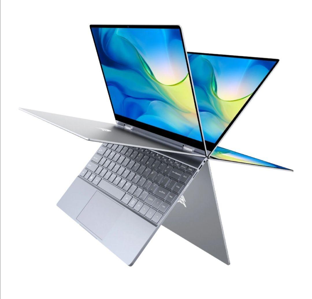 BMAX Y13 Laptop 13,3 pulgadas Pantalla táctil de 360 grados Intel N4120 8GB 256GB SSD 5mm