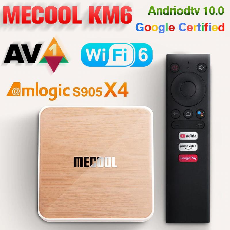 Android Tv 10.0 con 16GB de ROM
